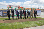 Croda Inc ceremonially breaks ground on a $170 million plant in New Castle, Del. Left to right: Delaware Governor Jack Markell; President, Personal Care & Actives, Croda, Kevin Gallagher; Group Chief Executive, Croda, Steve Foots; Managing Director of Geotech, Rick Hanson; Site Director, Croda Atlas Point, Robert Stewart; Global President of Operations, Croda, Stuart Arnott; Cabinet Secretary, Delaware Economic Development Office, Alan Levin; and Global Managing Director, Personal Care, Croda, Art Knox.