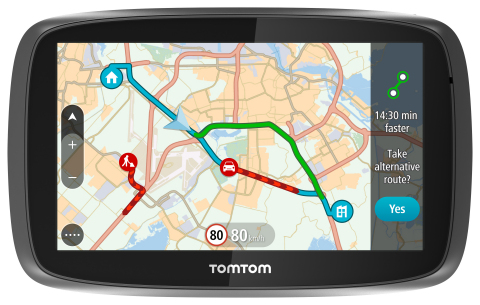 TomTom is introducing Lifetime World Maps and Lifetime Speed Cameras to drivers with the launch of n ...