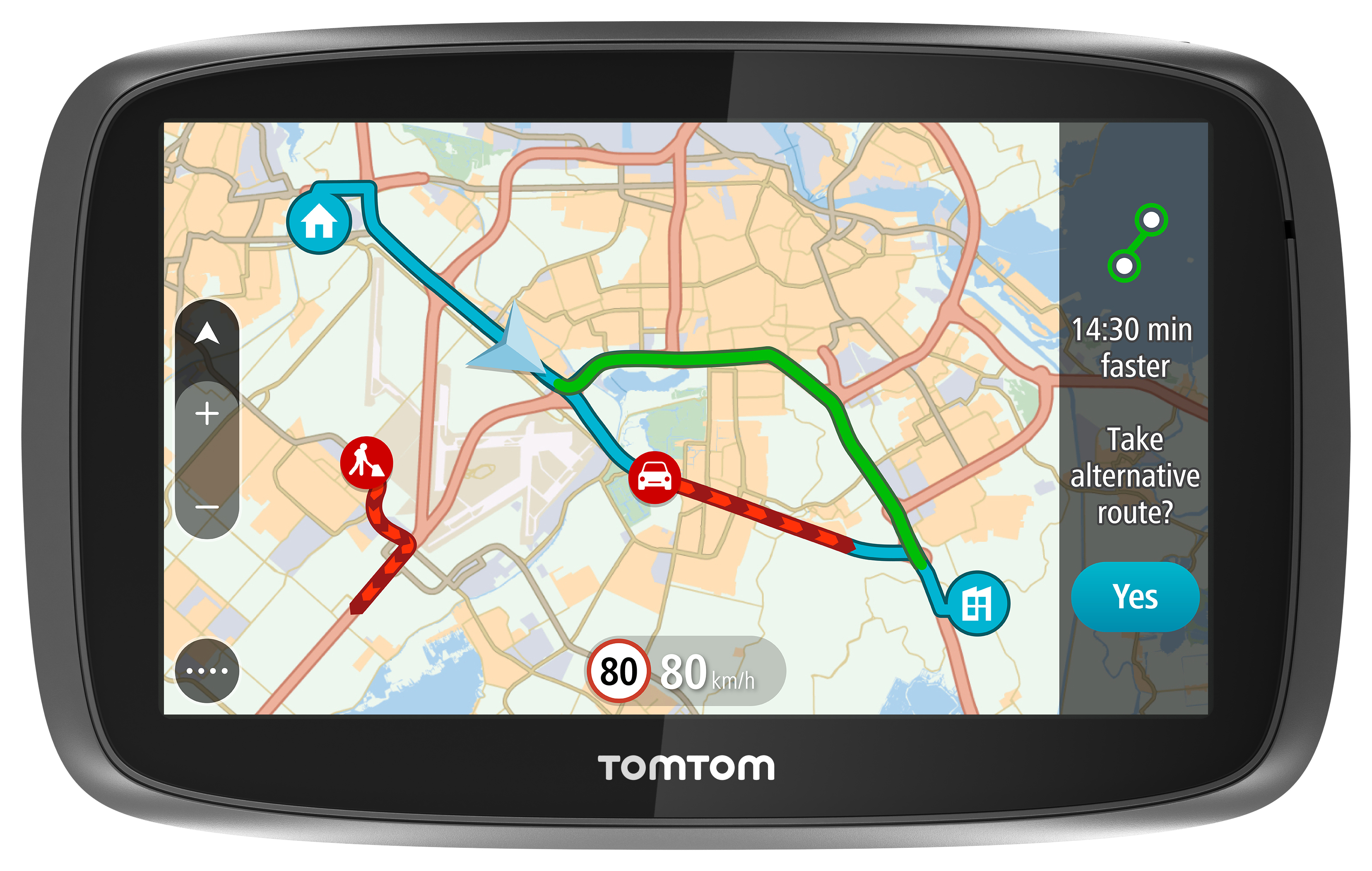 TomTom Launches New GO Navigation Devices with Lifetime World Maps