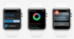 LIVESTRONG.COM Calorie Tracker app allows Apple Watch wearers to manage their health and fitness lifestyle by tracking daily exercise progress while showing calorie, recent food and water intake. (Photo: Business Wire)