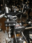 Researchers from Japan have developed a new high-speed camera technology, called STAMP, that can record events at a rate of more than 1-trillion-frames-per-second. The prototype camera is shown here in the lab. (Photo: Keiichi Nakagawa, University of Tokyo)