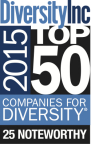 The 2015 DiversityInc 25 Noteworthy Companies