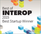 VeloCloud wins 2015 Best Startup Award at Interop (Graphic: Business Wire)