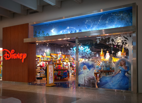 On Saturday, May 2, Disney Store will celebrate the grand opening of its remodeled store at Sunvalley Shopping Center in Concord, CA. (Photo: Business Wire)
