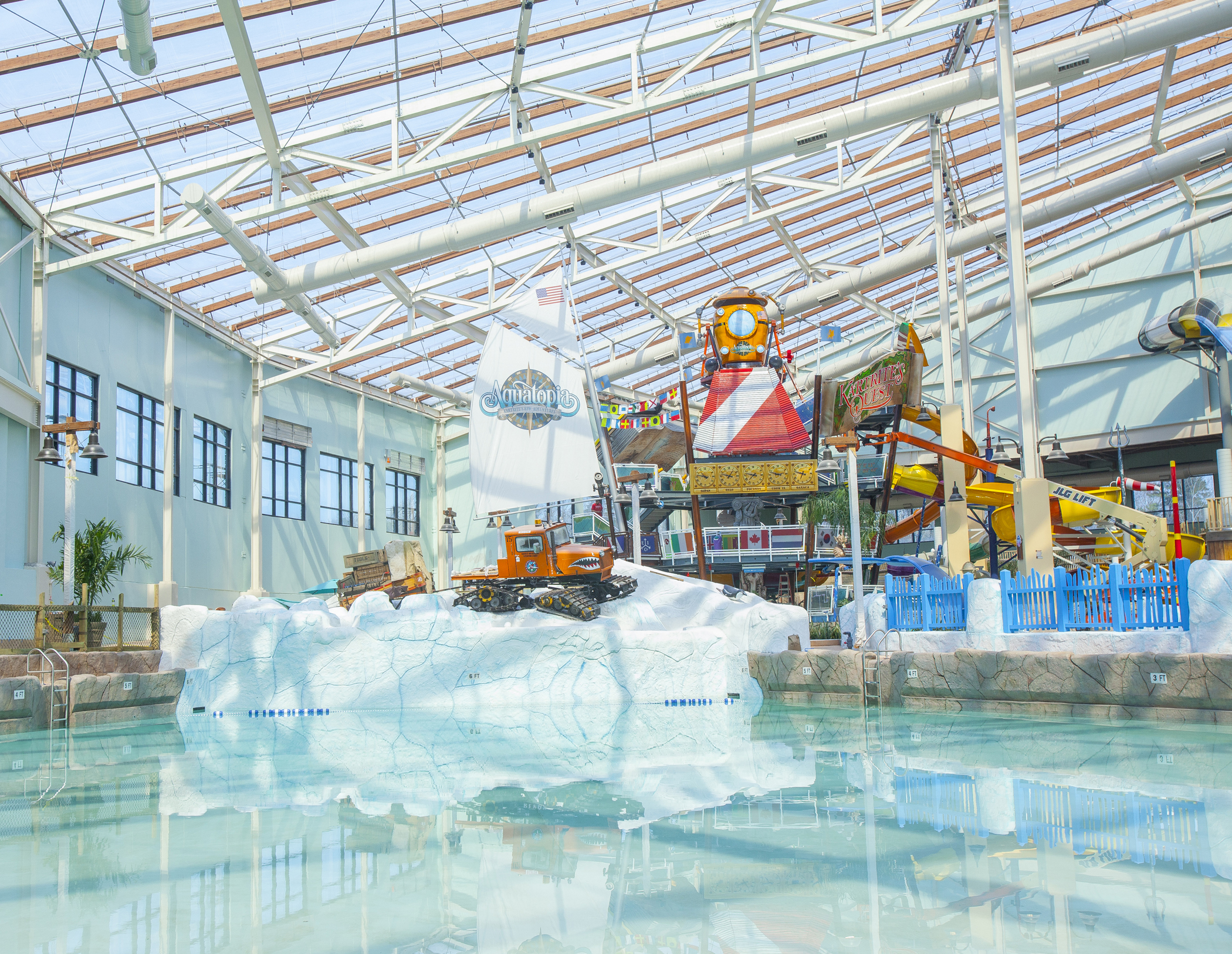 Camelback Lodge Aquatopia Indoor Waterpark Opens In The Pocono Mountains Business Wire