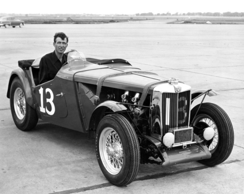 Carroll Shelby with MG (Photo: Business Wire)