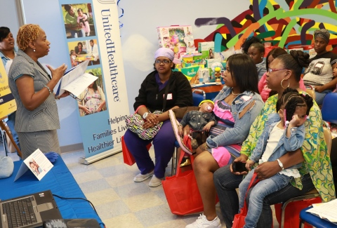 Unitedhealthcare Hosts Community Baby Showers In Cleveland