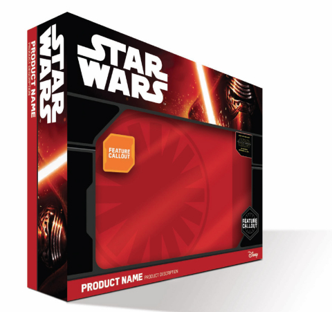 "New packaging featuring ""The Force Awakens"" villain, Kylo Ren (Photo: Business Wire)"