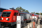 AEG Power Solutions is supplying on-board battery chargers to equip Deutsche Bahn locomotives from Bombardier. Copyright Bombardier