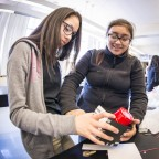 Parkway Heights Middle School students compete in the Helix Cup science challenge. (Photo: Business Wire)