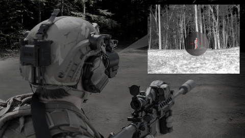 BAE Systems' integrated night vision targeting solution provides dismounted soldiers with rapid target acquisition capability. (Graphic: BAE Systems)