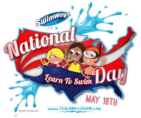 National Learn to Swim Day Logo (Graphic: Business Wire)