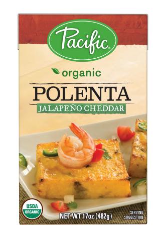 Pacific Foods Organic Polenta Jalapeño Cheddar (Photo: Business Wire)