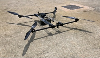 HYCOPTER hydrogen powered multi-rotor (Photo: Business Wire)
