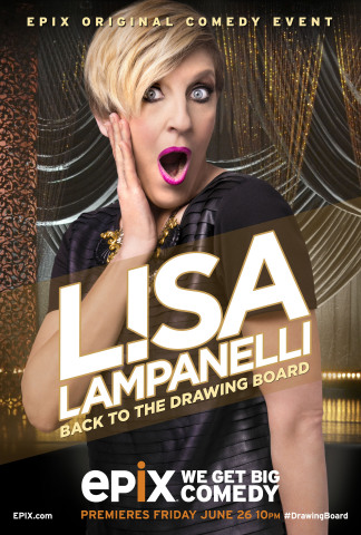 LISA LAMPANELLI: BACK TO THE DRAWING BOARD (Photo: Business Wire)