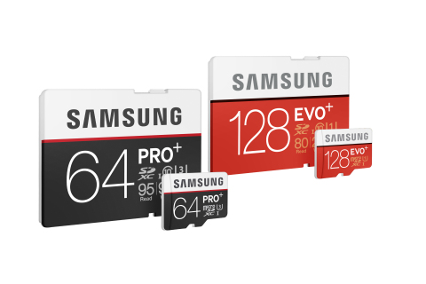 Samsung EVO Plus and PRO Plus (Photo: Business Wire)