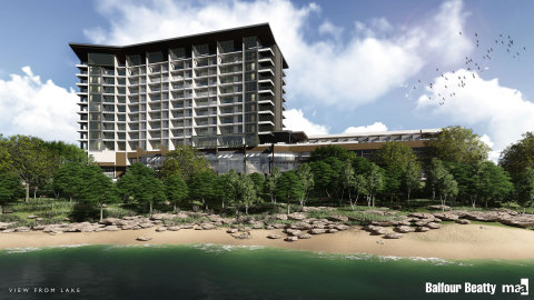New Era Hotels & Resorts and Sunset Legacy, LP to build project overlooking Lake Grapevine; 10 minutes north of DFW International Airport (Photo: Business Wire)