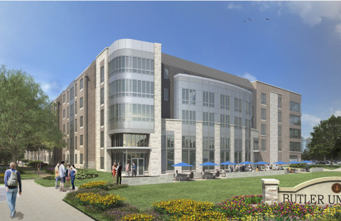 Sunset Student Residences, Butler University (Graphic: Business Wire)