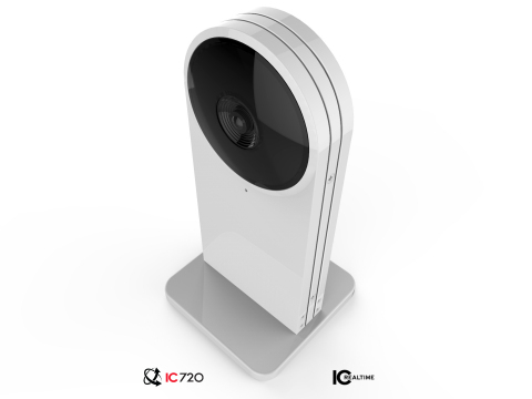 Capturing 360-degrees horizontally and 360-degrees vertically, IC Real Tech's IC720 dual-sensor Virtual PTZ video camera is suited for professional Virtual Reality applications (Photo: Business Wire)