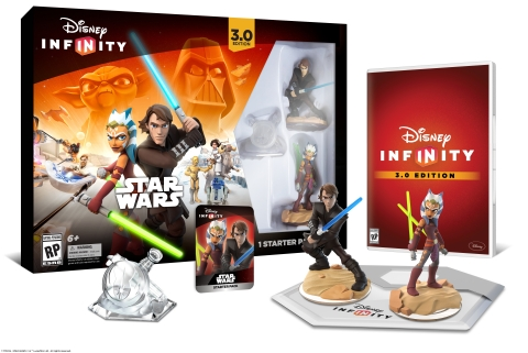 Disney Infinity 3.0 Edition Starter Pack (Photo: Business Wire)