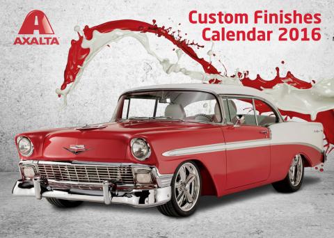 Axalta Custom Finishes Calendar Competition Runs through June 19, 2015. (Photo: Business Wire)