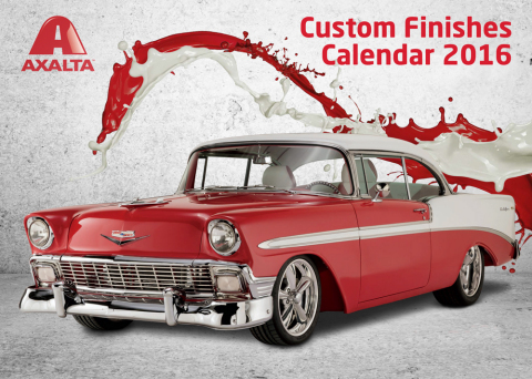 Axalta Custom Finishes Calendar Competition Runs through June 19, 2015. (Photo: Business Wire)
