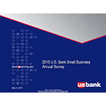 2015 U.S. Bank Small Business Annual Survey.