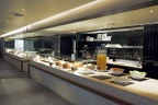 oneworld Business Lounge hosted buffet (Photo: Business Wire)