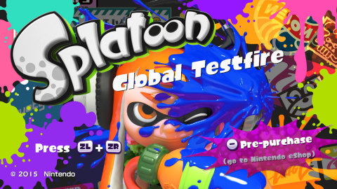 Wii U owners with a broadband Internet connection can now download from the Nintendo eShop a free special demo, which will enable them to participate in four-on-four Turf War battles in several one-hour demo events set at optimal times for global play. (Photo: Business Wire)
