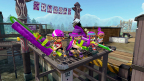 Players will have to think strategically when participating in Splatoon's Turf War mode. Two stages are refreshed every four hours, meaning players will have to carefully consider weapons and tactics for the stages on hand. (Photo: Business Wire)