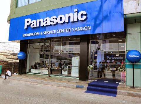 Panasonic Showroom-Service Centre Yangon Myanmar (Photo: Business Wire)