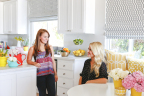 Rosanna Pansino and Christiane Lemieux talk home design for new YouTube series on Kin Community.