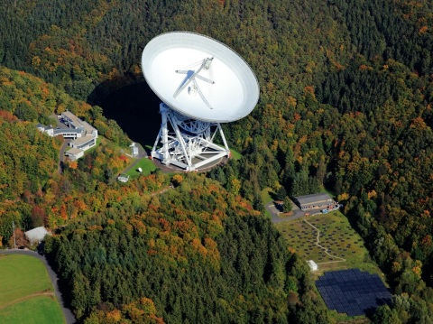 Axalta's PercoTop coating used on radio telescope in Effelsberg, Germany (Photo: Business Wire)