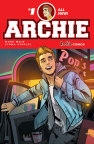 Cover to ARCHIE #1, on sale July 8 from writer Mark Waid and artist Fiona Staples - Courtesy Archie Comics