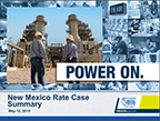 New Mexico Rate Case Presentation
