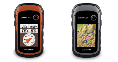 Introducing the Garmin® eTrex® 20x and 30x Outdoor Handhelds (Photo: Business Wire)