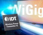 IDT Teams With Blu Wireless to Unite Wireless Charging and WiGig Data Transmission (Graphic: Business Wire)