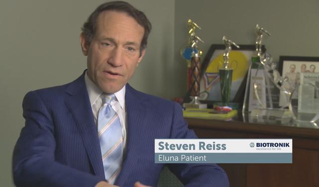 Eluna Pacemaker Patient Story: Steven Reiss (Video: Business Wire).