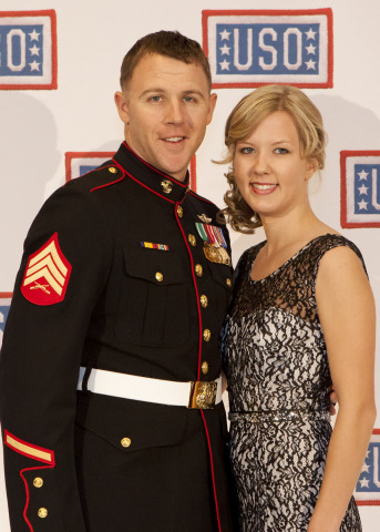 SSgt Andrew C Seif and Dawn Seif (Photo: Business Wire)