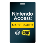 On two days during the week of E3, participating Best Buy locations will open their doors to let fans try out the upcoming Mario Maker game for the Wii U console. (Photo: Business Wire)