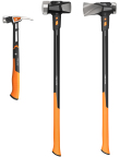 Fiskars' new line of 15 IsoCore(TM) Striking Tools includes hammers, sledge hammers, mauls and picks. (Photo: Business Wire)