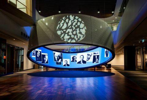 NanoLumens 4K 2.5MM display installed in the Telstra Customer Insight Center in Sydney, Australia.