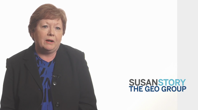 Susan Story of The GEO Group describes how Benefitfocus helps the company manage and design employee benefit programs, reduce costly errors and stay compliant with healthcare reform.