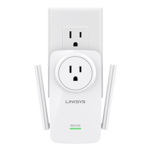 Linksys AC1200 Amplify Wi-Fi Range Extender (Photo: Business Wire)