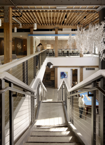 Inside Weebly's new 31,000 square feet headquarters. (Photo: Business Wire)