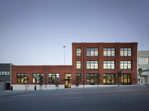 Weebly's new headquarters at 460 Bryant St. (Photo: Business Wire)