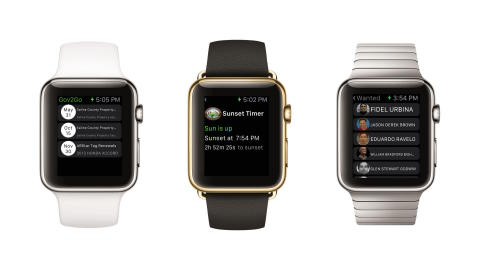 NIC Inc. (NASDAQ: EGOV) launches the first official app for Apple Watch. (Photo: Business Wire)