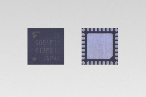 "Toshiba: small-sized motor driver IC ""TB9051FTG"" for DC brushed motors intended for automotive electronic throttle control. (Photo: Business Wire)"