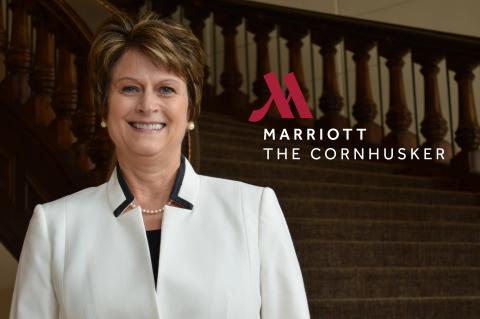 Susan Madsen, GM, The Cornhusker, A Marriott Hotel (Photo: Business Wire)