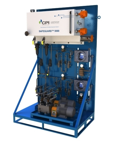 SAFEGUARD(TM) 5000 lubrication system from CPI (Photo: Business Wire)